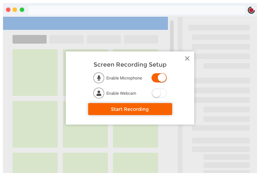 Screen Recorder | Outklip Screen Video Recorder for Chrome